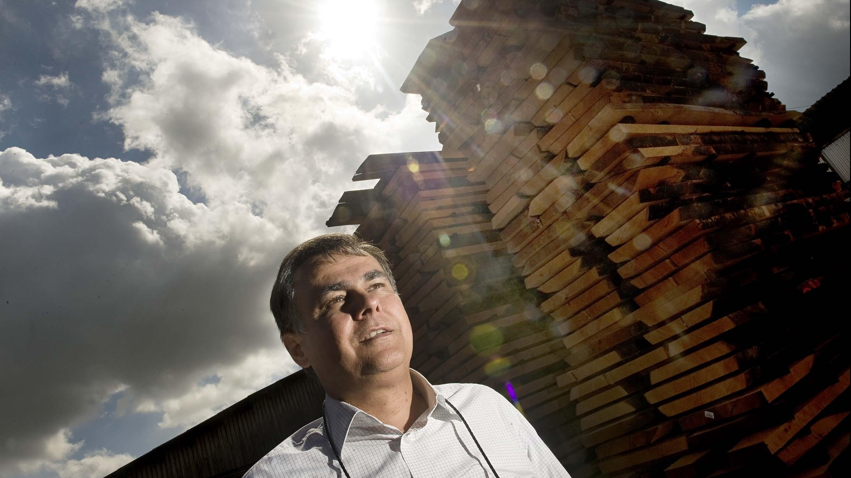 Martin Nyrop-Larsen, administrerende direktør, Hvalsø Savværk.