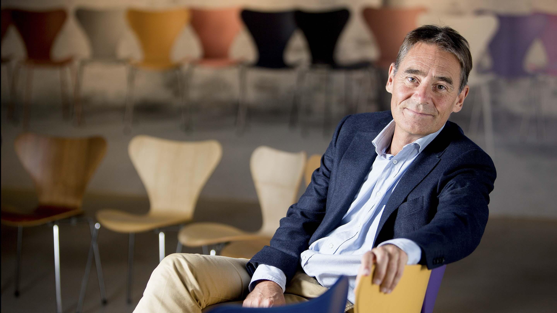 Jacob Holm, aministrerende direktør, Fritz Hansen.