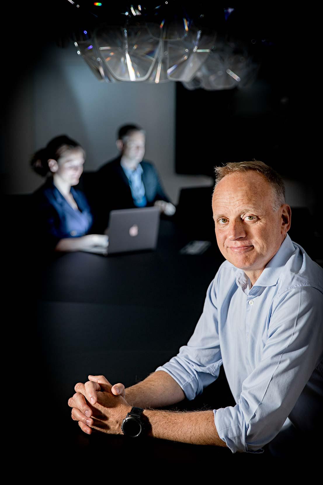 Lars Thinggaard. adm. dir., Milestone Group.