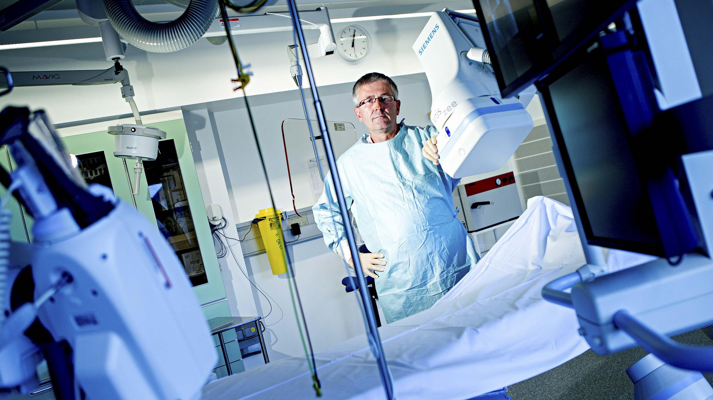 Tomas Joen Jakobsen, overlæge, hjerteafdelingen, Hillerød Sygehus.