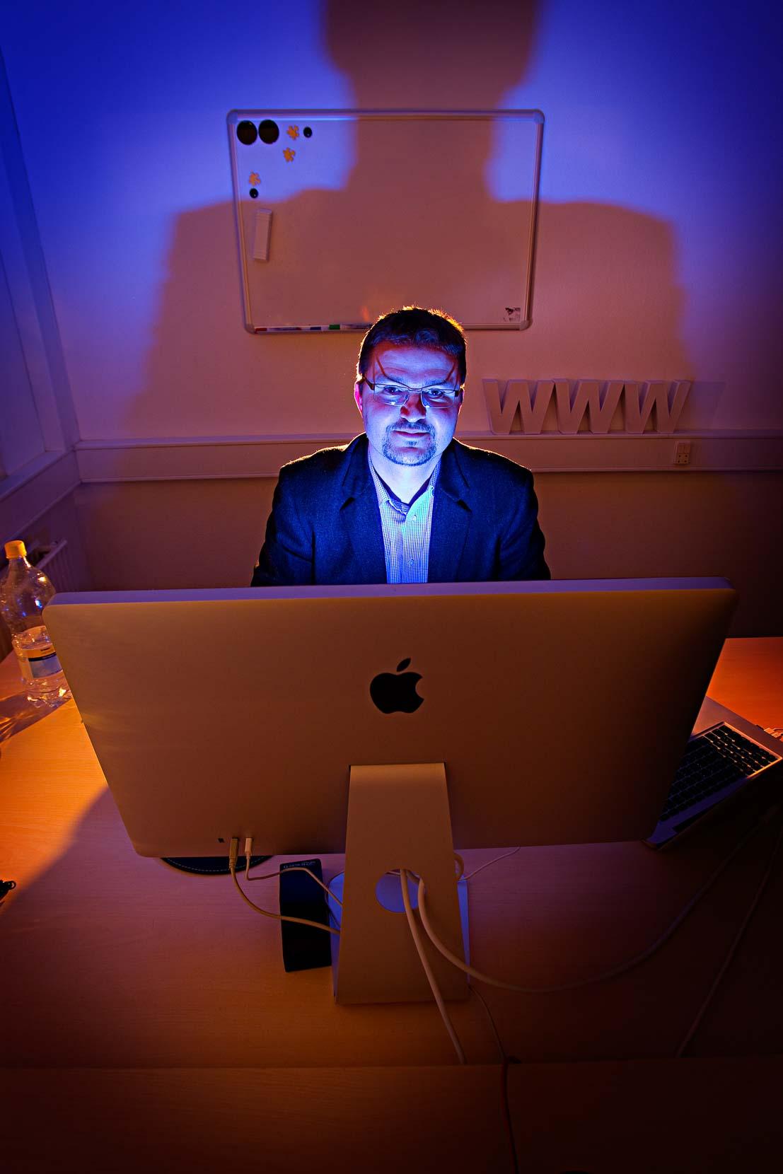 Jens Peder Knudsen, webdesigner..