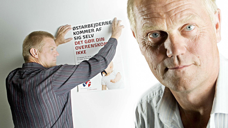Arne Grevsen, gruppeformand, 3F.