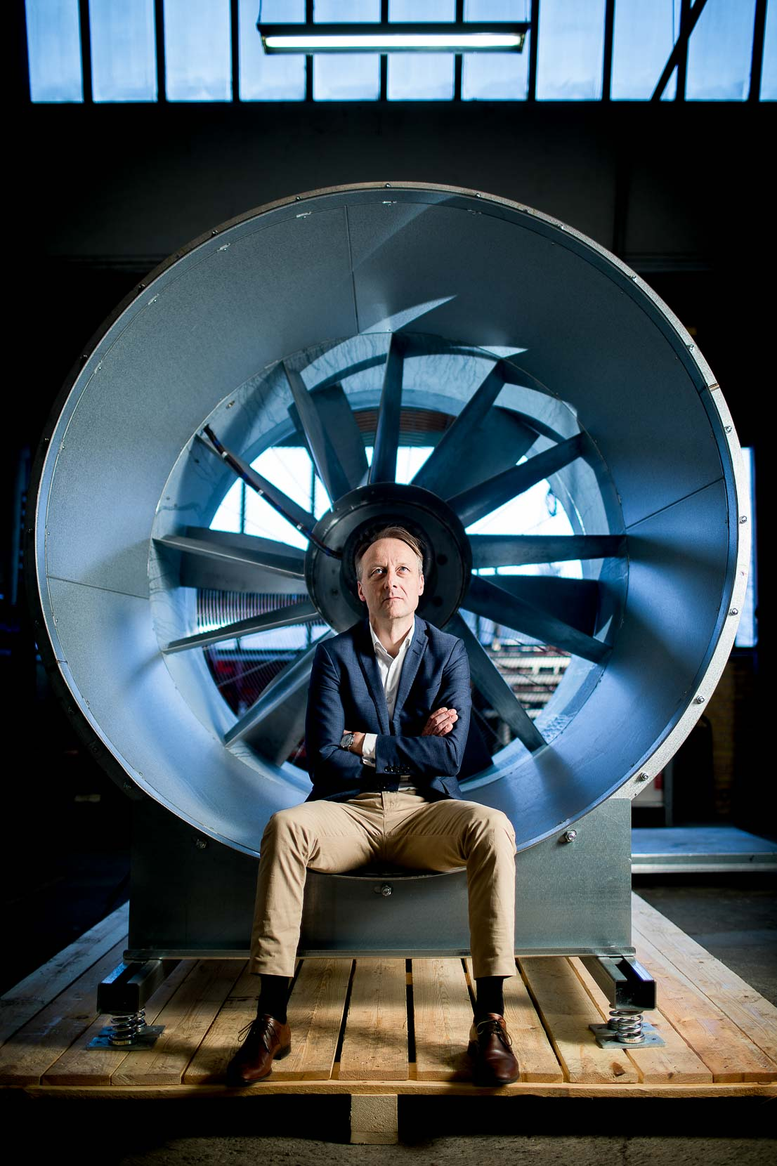 Lars Knaack, Adm. dir. Novenco Building and Industry.